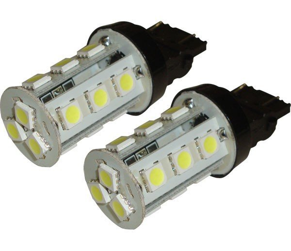 Kit Lâmpada Led Kit Super Led S25 12V 32Cp (Par) 15 Leds