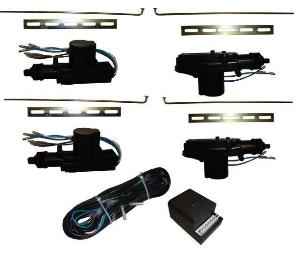 Kit Trava Elétrica Universal 12V 4 Portas 101008