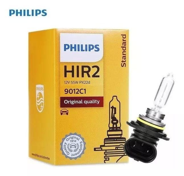 Lâmpada Philips 12V 55W Px22D Hir2 Hyundai Ix35 Ford Edge 9012