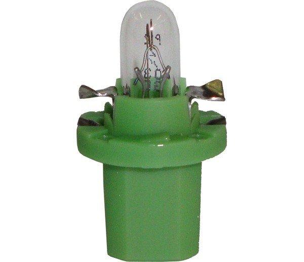 Lâmpada Com Soquete Fixo ( Verde ) 12V 2W