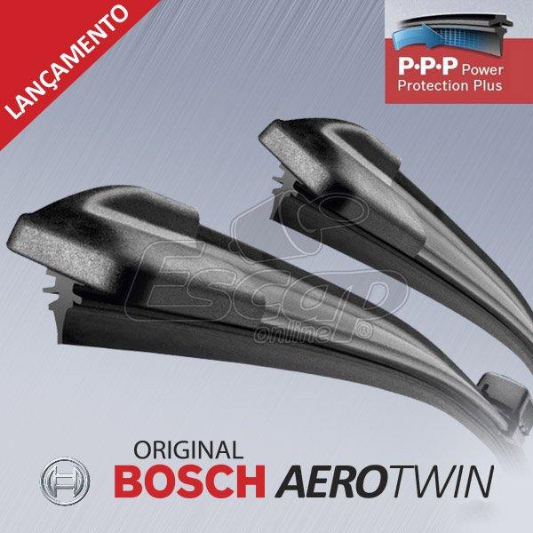 """Palhetas Dianteiras Aerotwin Plus 26"""" 17"""" Fusion Punto C5 Cayenne"""