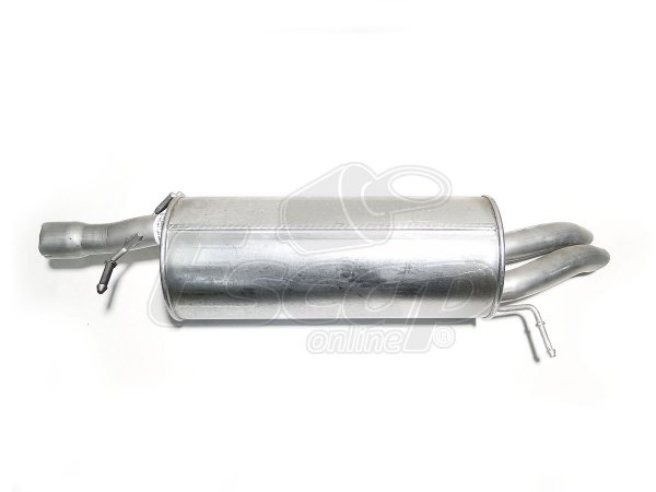Silencioso Escapamento Traseiro Passat 1.8 Turbo 98/01