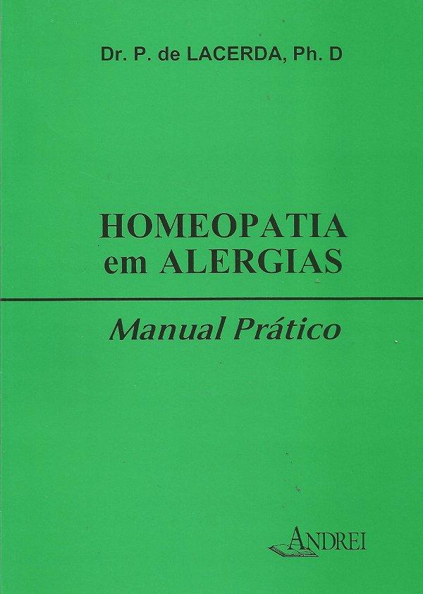 HOMEOPATIA EM ALERGIAS -  MANUAL PRÁTICO