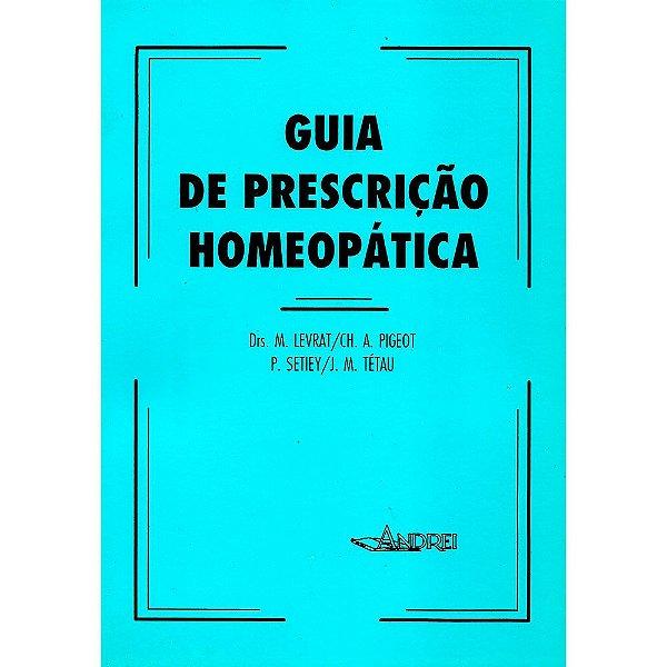 GUIA DE PRESCRIÇÃO HOMEOPÁTICA