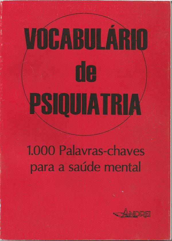 VOCABULÁRIO DE PSIQUIATRIA