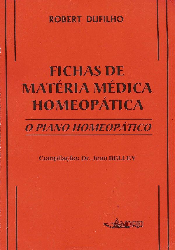 FICHAS DE MATÉRIA MÉDICA HOMEOPÁTICA