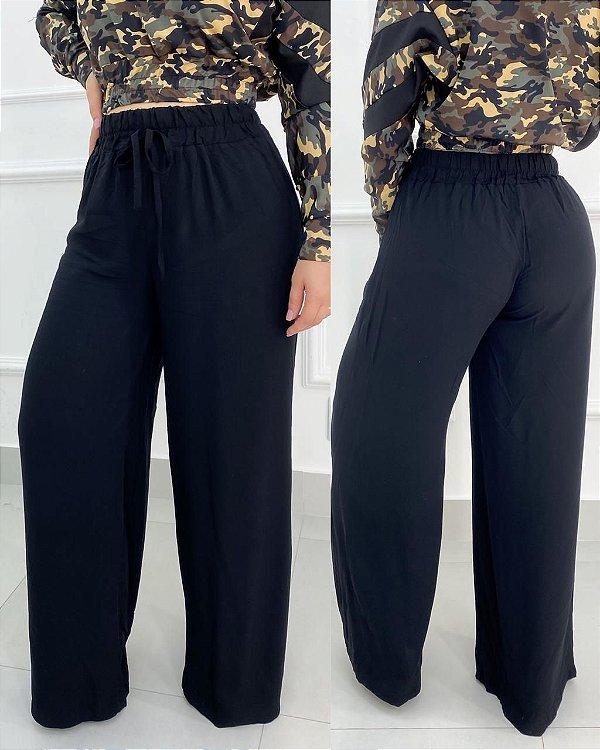Calça Viscose Pantalona
