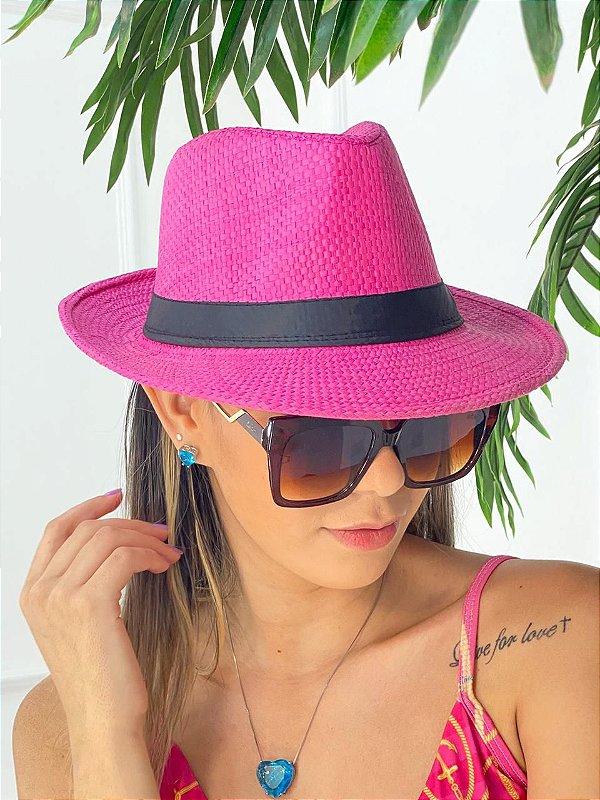 Chapéu Praia Pink