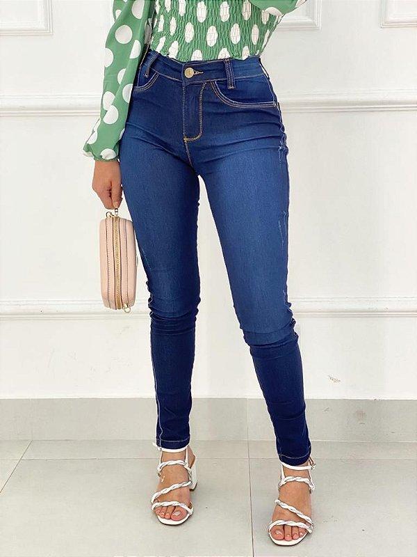 Calça Jeans Tradicional Desfiados