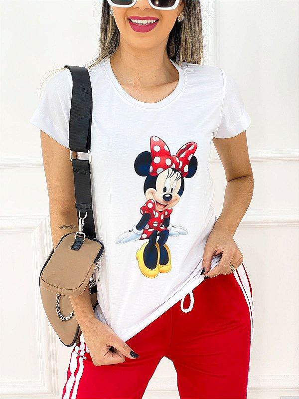 T-Shirt Poliéster Minnie