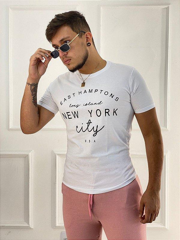 T-Shirt Masculina New York