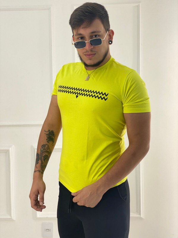 T-Shirt Masculina Waves