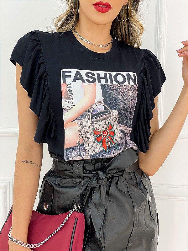 T-Shirt Viscolycra Fashion