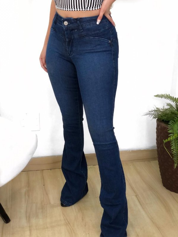 Calça Jeans Clarifay Flare
