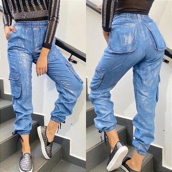 Calça Jeans Clarifay Jogger