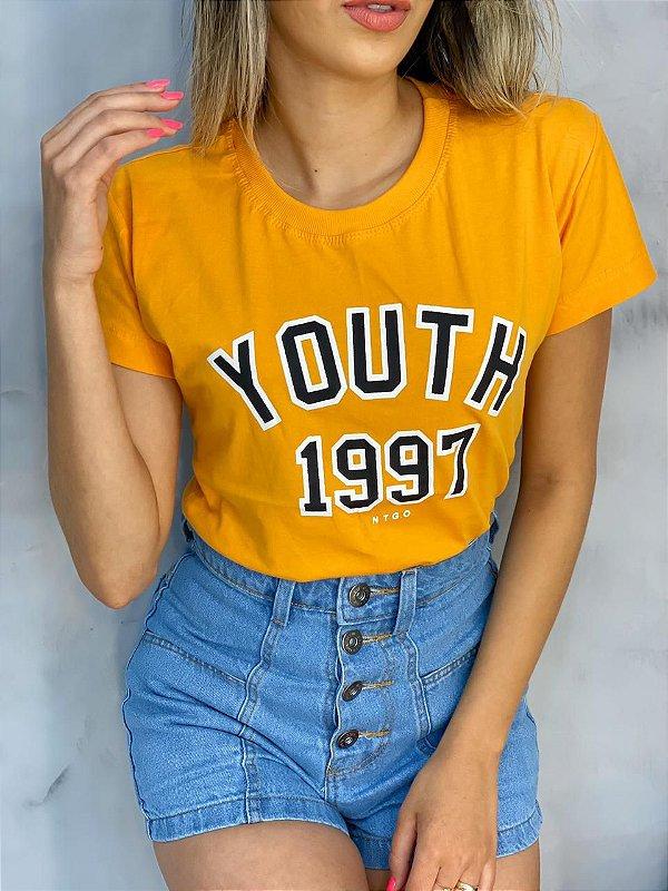 T-Shirt Youth 1997 Amarela