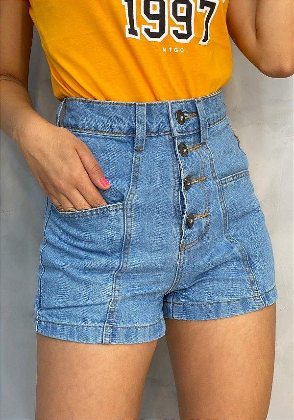 Short Jeans Four Buttons