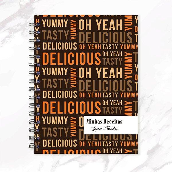 Caderno de Receitas - Delicious