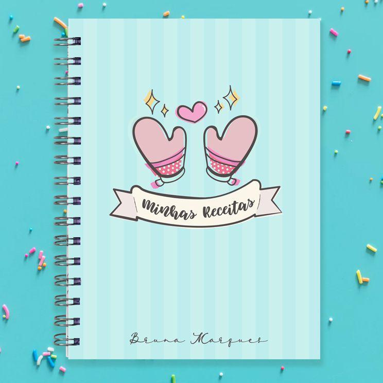 Caderno de Receitas - Luvas