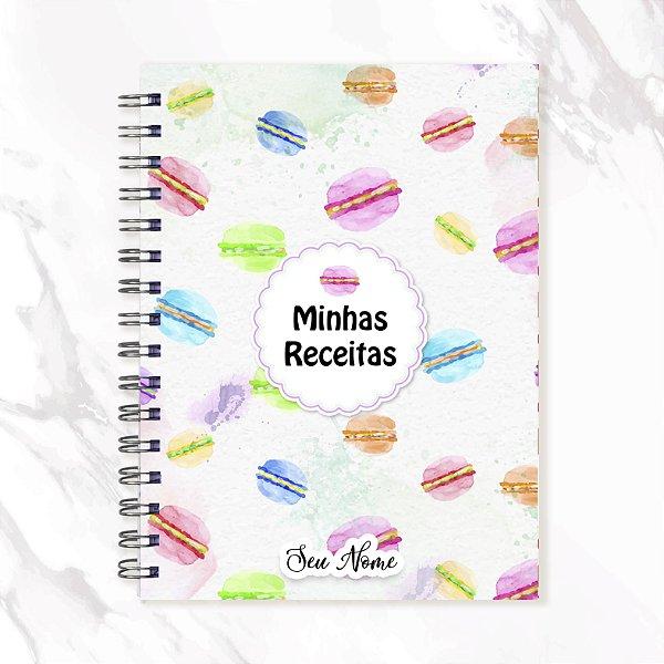 Caderno de Receitas - Macaron
