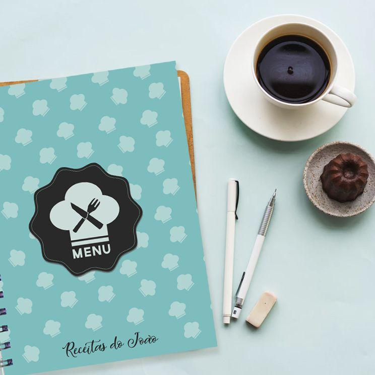 Caderno de Receitas - Menu