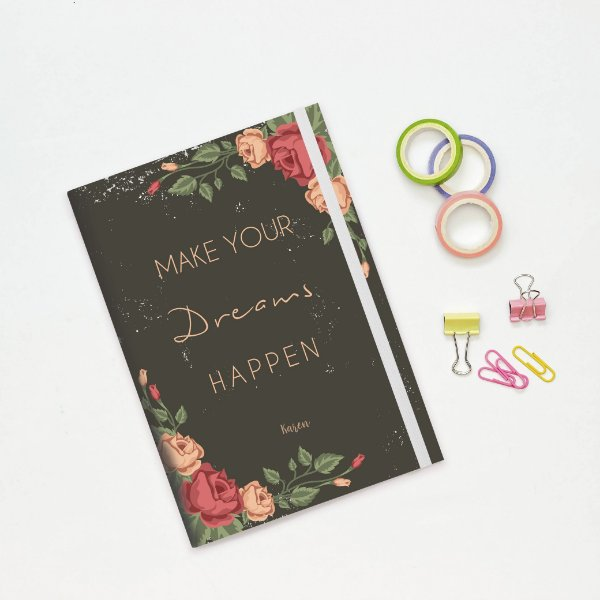 Caderno Flexível - Make your dreams