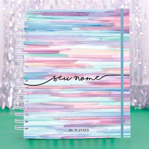 Caderno Universitário - Aquarela
