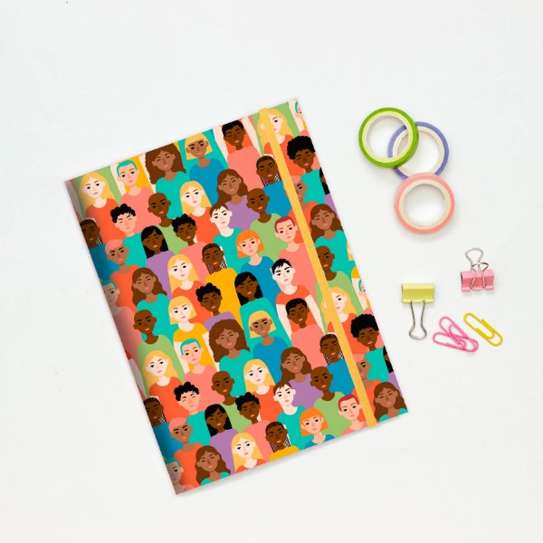 Caderno Flexível - Mulheres
