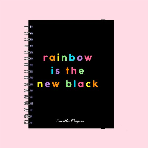 Planner Colorido - Rainbow