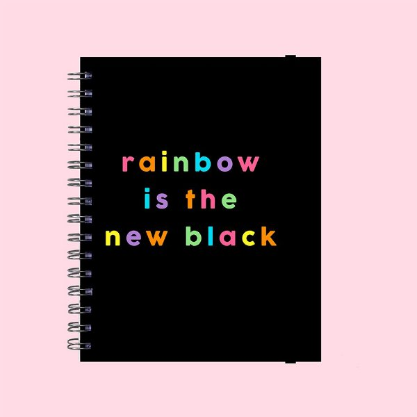Planner Minimalista - Rainbow