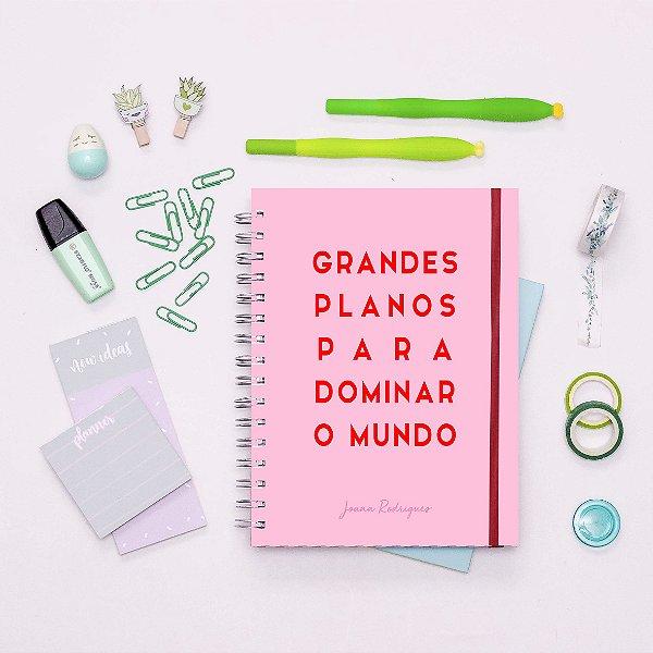 Planner Minimalista - Grandes Planos