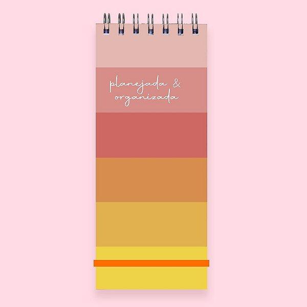 Planner Diário - Planejada e Organizada