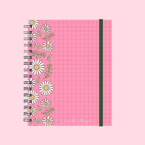 Planner Ilustrado - Floral