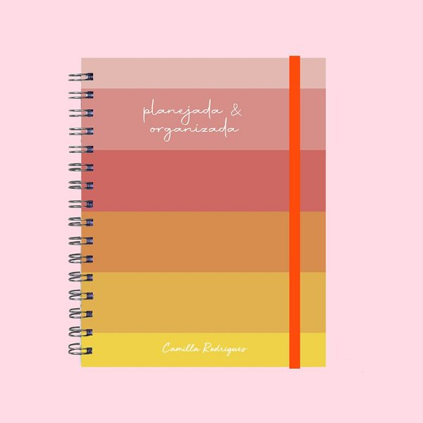 Planner Ilustrado - Planejada e Organizada
