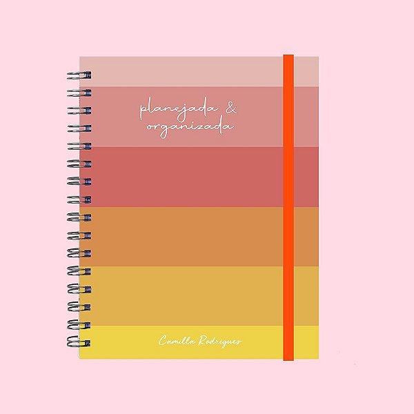 Caderno Universitário - Planejada e Organizada