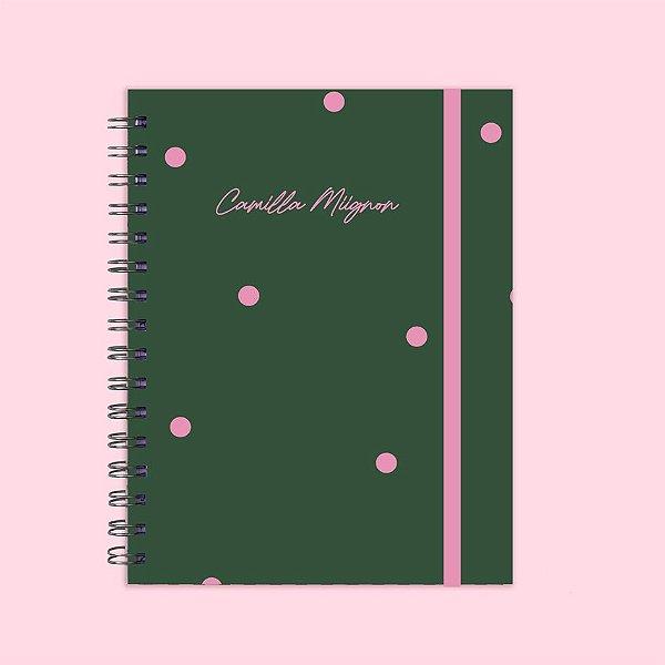 Caderno Universitário - Poá Verde