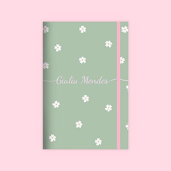 Caderno Flexível - Margaridas
