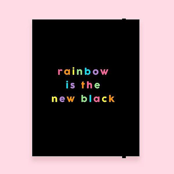 Caderno Flexível - Rainbow