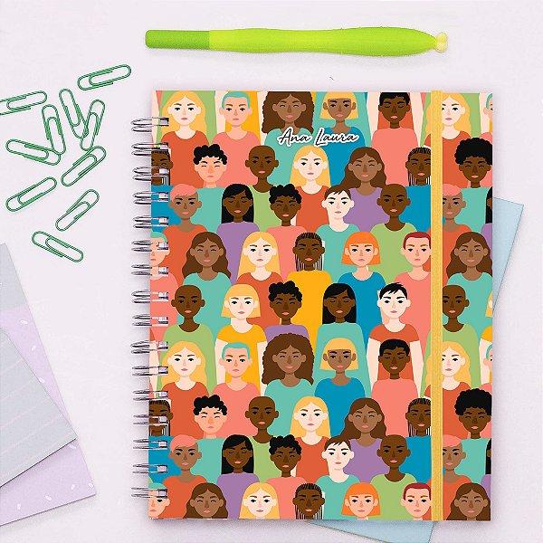 Caderno Universitário - Mulheres
