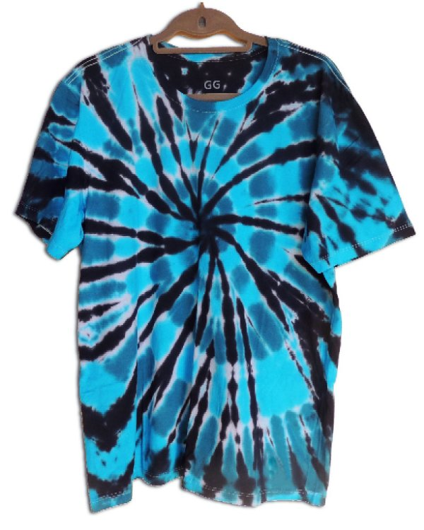 Camiseta Tie-Dye Vortex