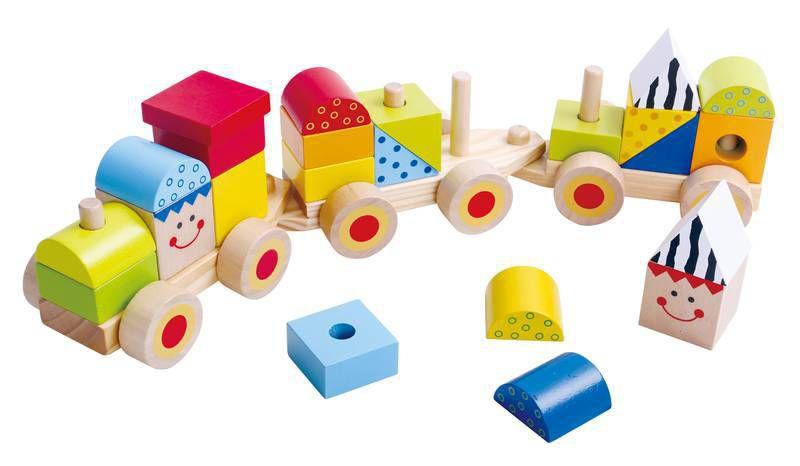Trem de blocos