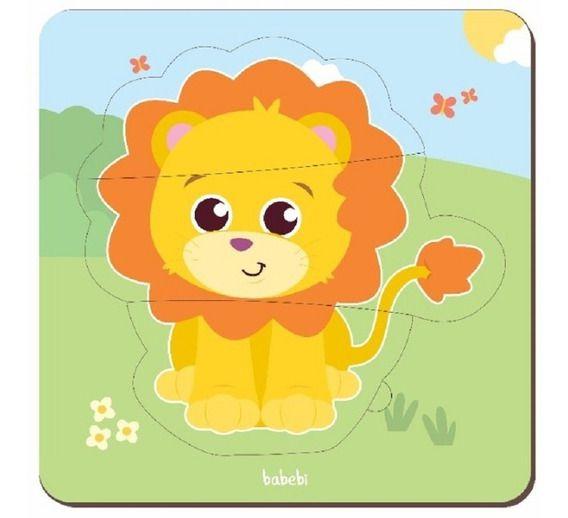 Quebra cabeça baby - leão