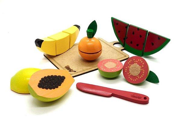 Kit frutinhas com corte - 5 unidades
