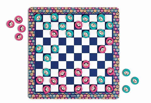 Jogo de damas - Turma da Mônica