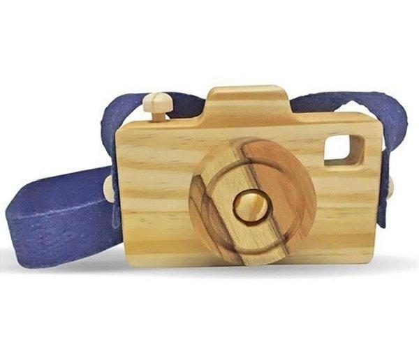 Câmera fotográfica lúdica - marinho