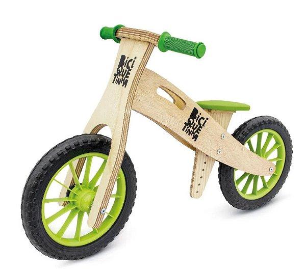 Bicicleta de equilíbrio - Lenho Verde