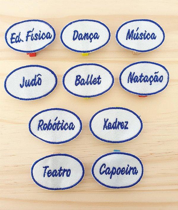 Calendário Educativo - marcadores de aulas (Kit com 5 unidades)