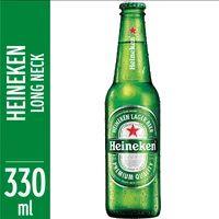 Cerveja Heineken 330ml Long Neck