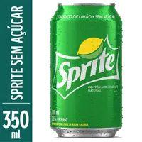 Refrigerante Sprite 350ml Lata Sem Açúcar
