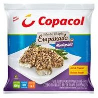 Peixe Tilápia Copacol 400g Empanado Com Grãos